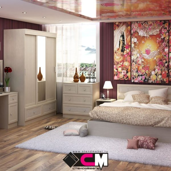 Спальня Барселона от СтендМебель в Донецке интернет-магазин Коломбо