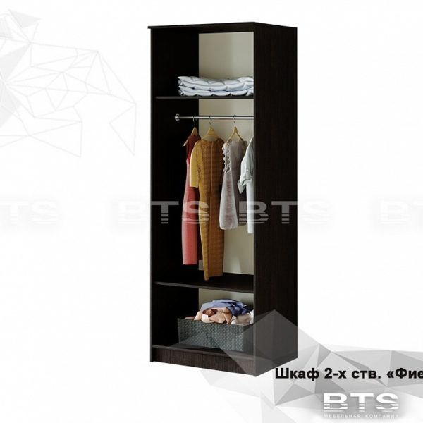 Шкаф 2-ух створчатый Фиеста