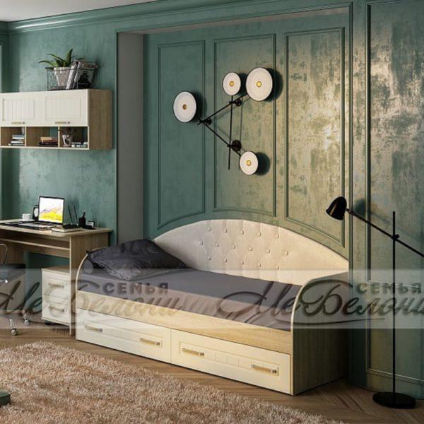 Кровать Маркиза с мягкой спинкой