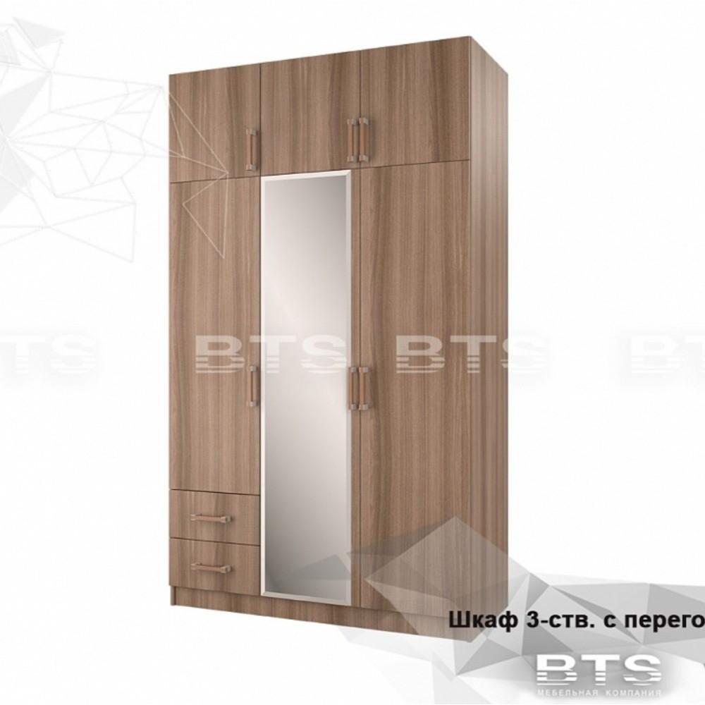 Шкаф 3-х ств. с ящиками