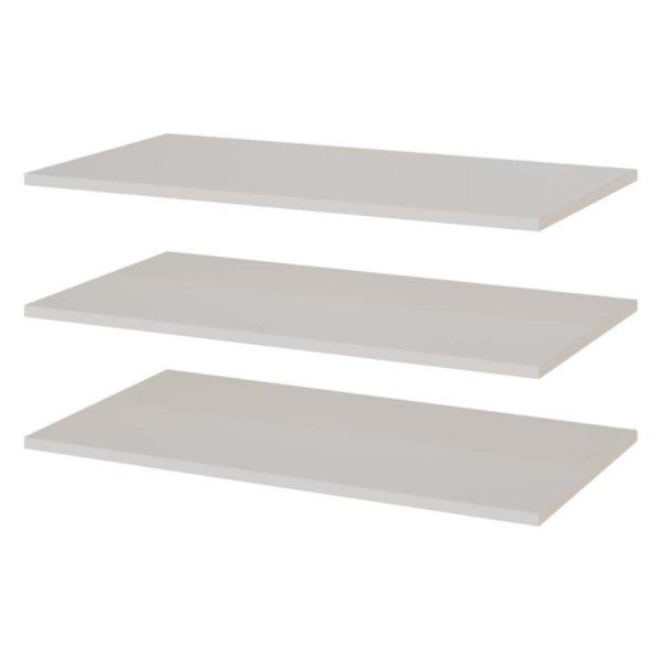 Полки для шкафа двухстворчатого Соло от SV-Мебель в Донецке интернет-магазин Коломбо