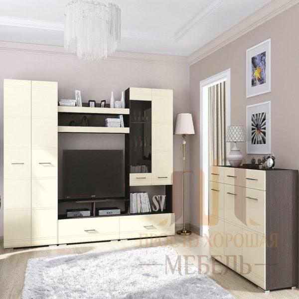 Гостиная №1 от SV-Мебель в Донецке интернет-магазин Коломбо