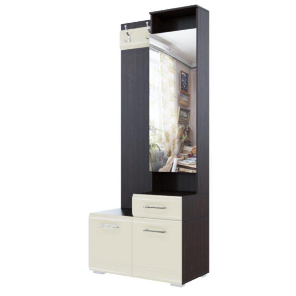 Вешалка с Зеркалом №1 от SV-Мебель в Донецке интернет-магазин Коломбо