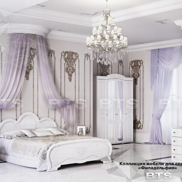 Спальня Филадельфия от BTS в Донецке интернет-магазин Коломбо