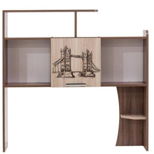 Полка-надстройка Город от SV-Мебель в Донецке интернет-магазин Коломбо