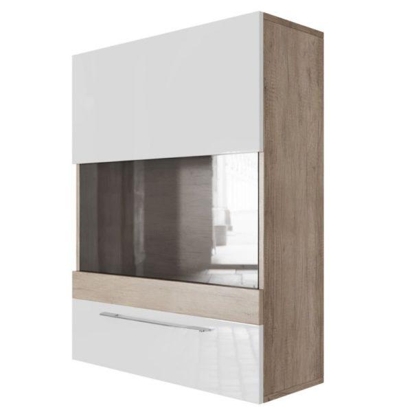 Шкаф навесной горизонтальный (700) Ницца от SV-Мебель в Донецке интернет-магазин Коломбо