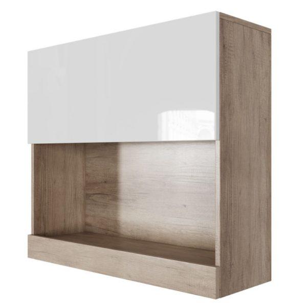 Шкаф навесной горизонтальный (800) Ницца от SV-Мебель в Донецке интернет-магазин Коломбо