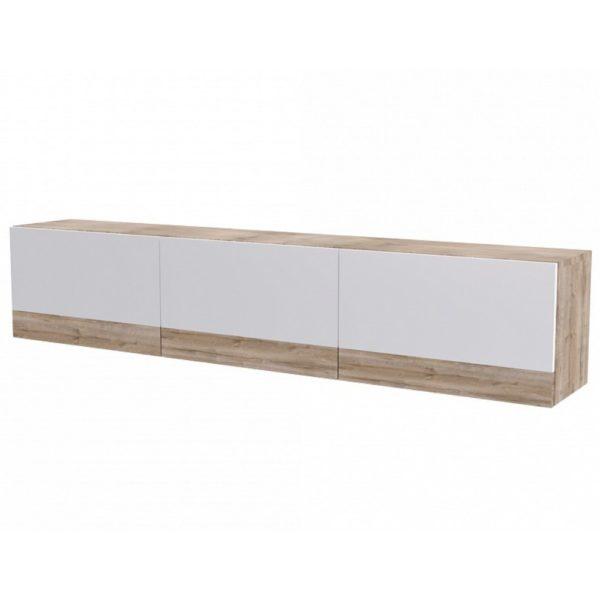 Полка навесная горизонтальная (1600) Ницца от SV-Мебель в Донецке интернет-магазин Коломбо