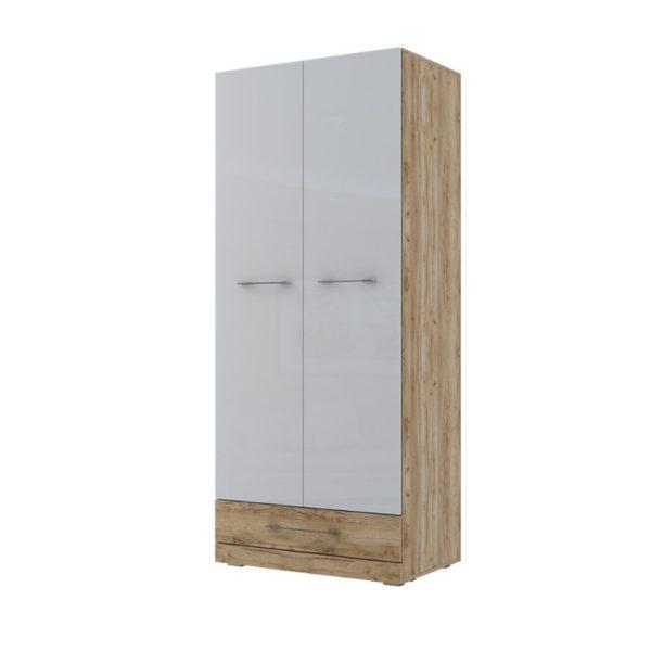 Шкаф двухстворчатый комбинированный (420) Ницца от SV-Мебель в Донецке интернет-магазин Коломбо