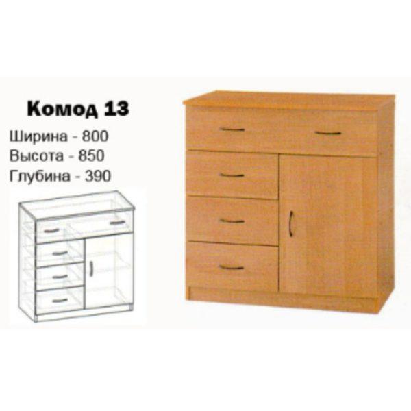 Комод 13 купить в Донецке, интернет-магазин Коломбо
