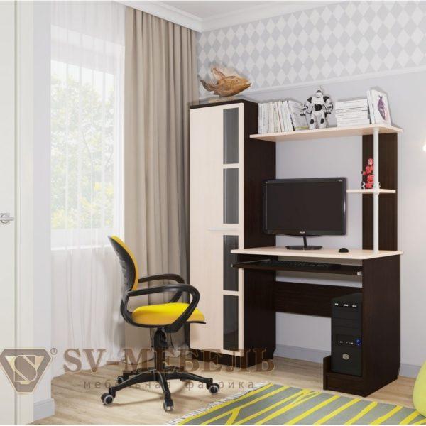 Стол компьютерный №1 от SV-Мебель в Донецке интернет-магазин Коломбо