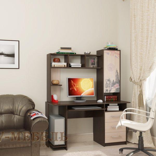 Стол компьютерный №6 от SV-Мебель в Донецке интернет-магазин Коломбо