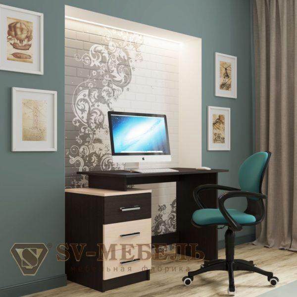 Стол компьютерный №8 от SV-Мебель в Донецке интернет-магазин Коломбо