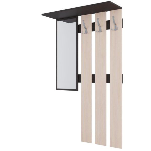 Вешалка с зеркалом №2 от SV-Мебель в Донецке интернет-магазин Коломбо