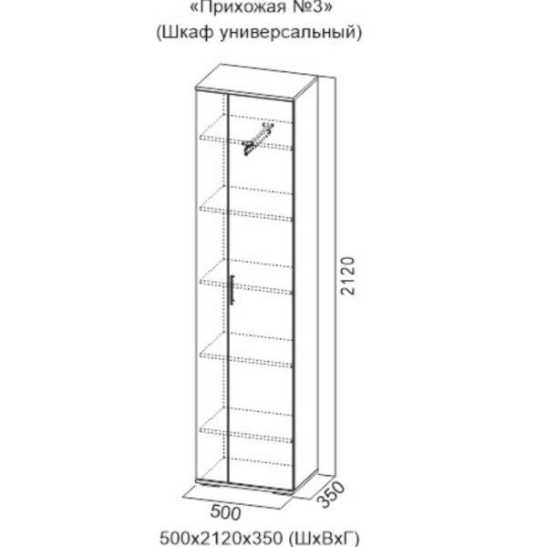 Шкаф универсальный №3