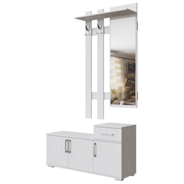 Вешалка с зеркалом №3 от SV-Мебель в Донецке интернет-магазин Коломбо