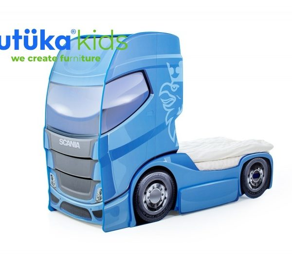 Кровать-грузовик Скания+1