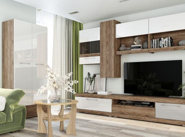 Гостиная Ницца от SV-Мебель в Донецке интернет-магазин Коломбо