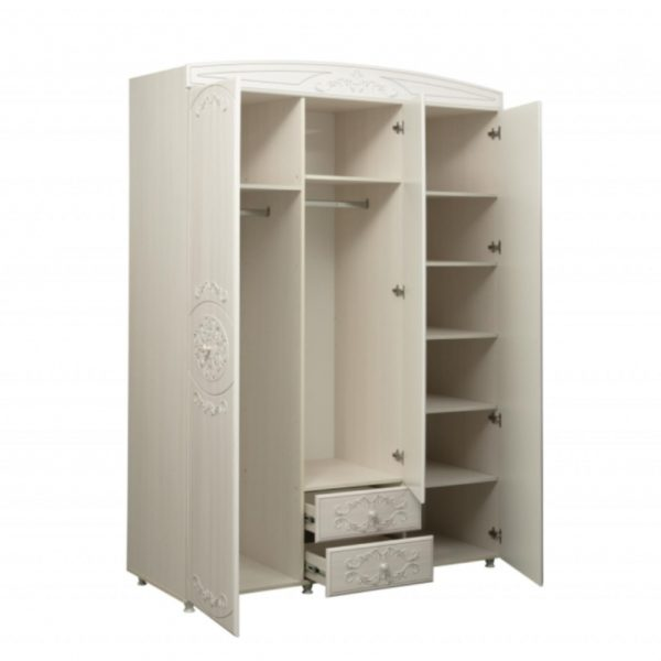 Шкаф 3х дверный Каролина