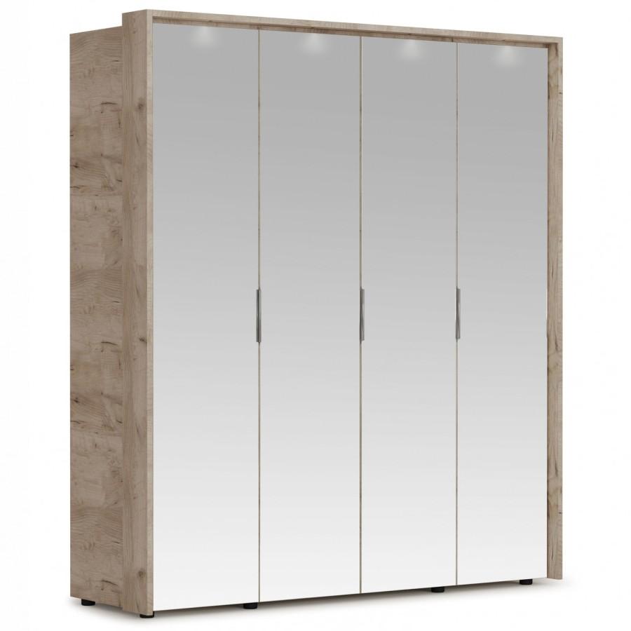 Шкаф Джулия 4з с порталом и подсветкой