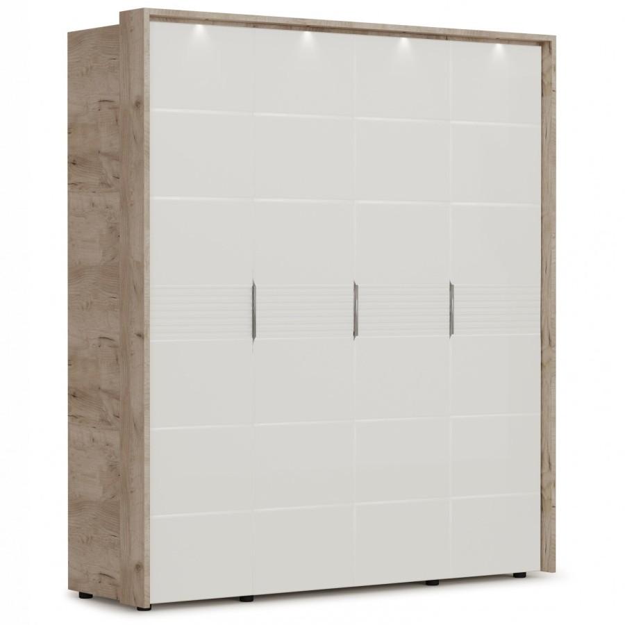 Шкаф Джулия 4д с порталом и подсветкой