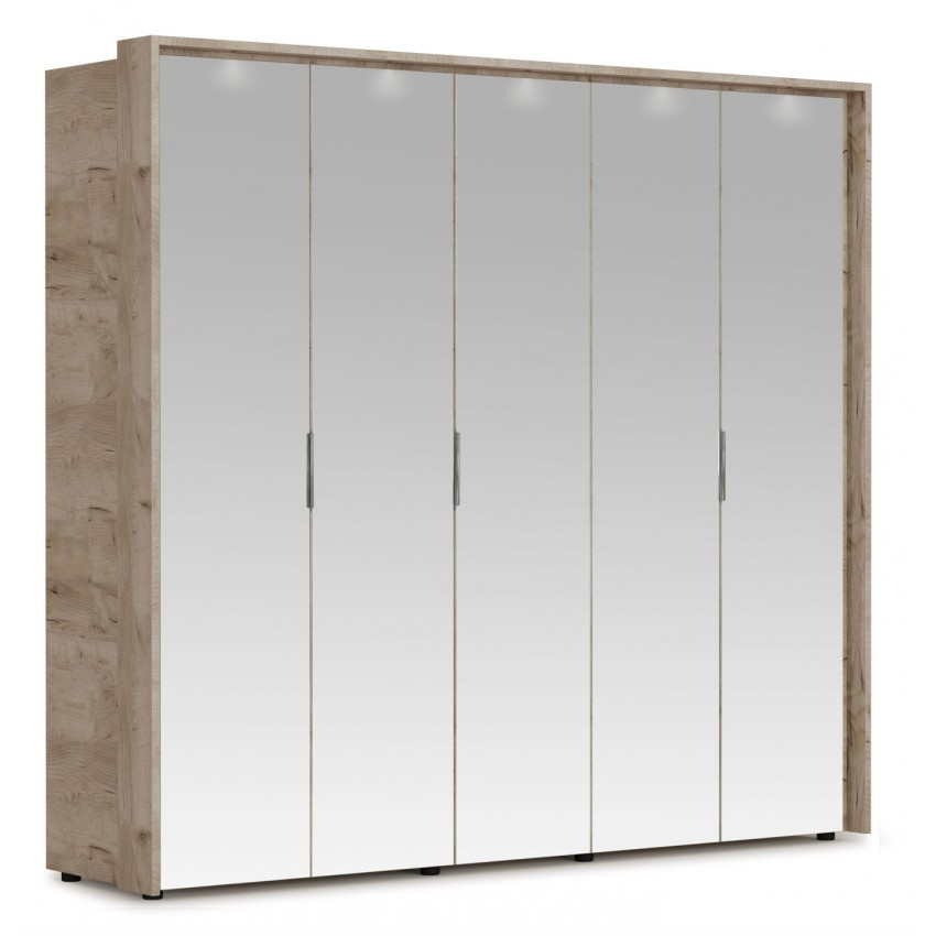 Шкаф Джулия 5з с порталом и подсветкой