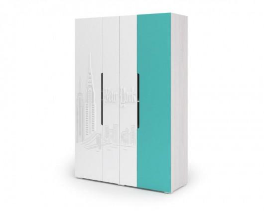 Шкаф 4-х створчатый Миа ШК 054