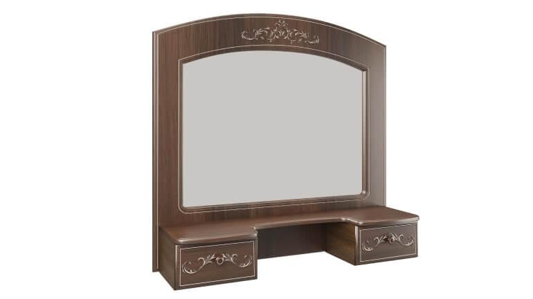 Полка с зеркалом Каролина