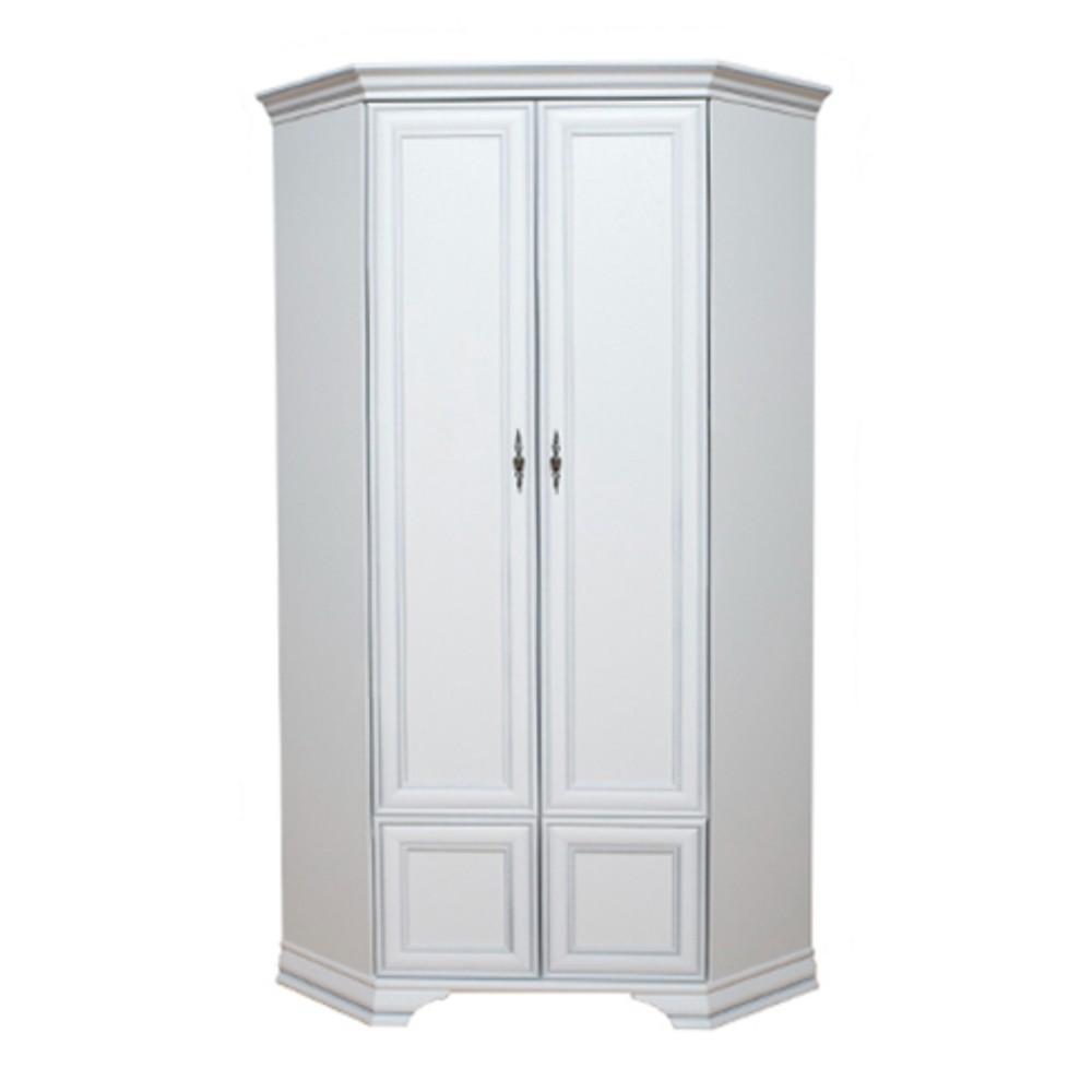 Шкаф угловой Кентаки SZFN2D - Белый